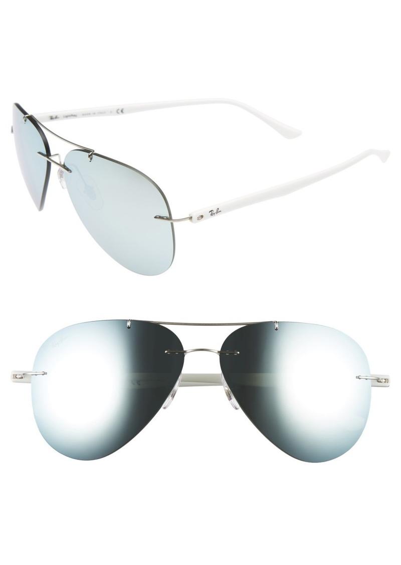 Ray-Ban Tech 59mm Aviator Sunglasses
