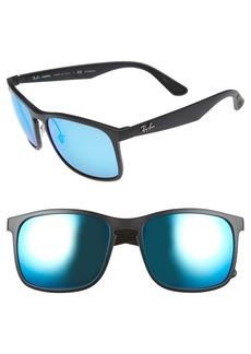 Ray-Ban Tech 62mm Polarized Wayfarer Sunglasses