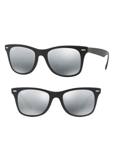 Ray-Ban Tech Wayfarer Liteforce 52mm Sunglasses