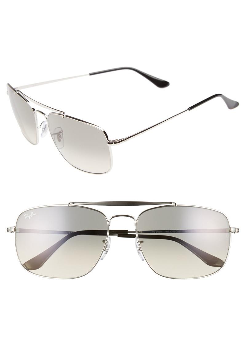 Ray-Ban The Colonel 61mm Aviator Sunglasses