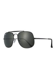 Ray-Ban The General Polarized Aviator Sunglasses