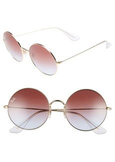 Ray-Ban The Ja-Jo 54mm Round Sunglasses