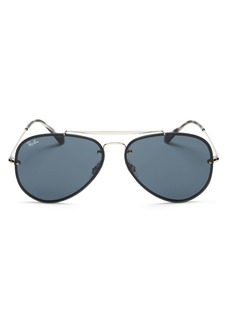 Ray-Ban Unisex Blaze Aviator Sunglasses, 61mm - 100% Exclusive