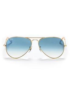 Ray-Ban Unisex Aviator Sunglasses, 58mm