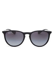 Ray-Ban Unisex Erica Polarized Classic Round Sunglasses, 54mm