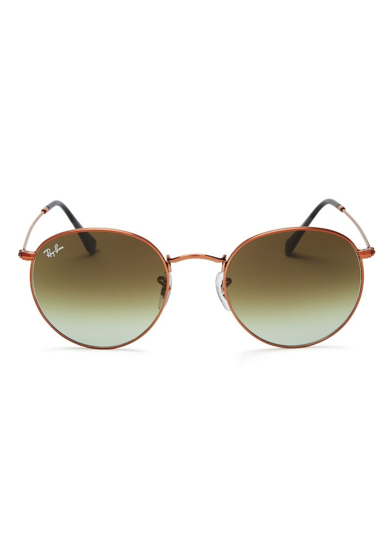 Ray-Ban Unisex Icons Round Sunglasses, 53mm