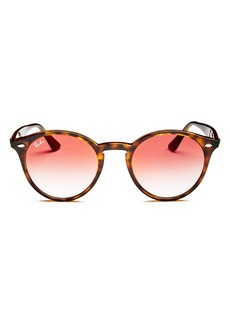 Ray-Ban Unisex Highstreet Round Sunglasses, 51mm
