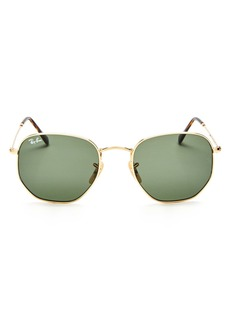 Ray-Ban Unisex Icons Hexagonal Sunglasses, 54mm