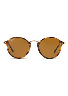 Ray-Ban Unisex Round Sunglasses, 49mm