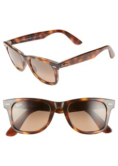 Ray-Ban Wayfarer 50mm Gradient Sunglasses