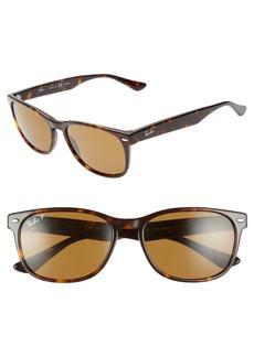 Ray-Ban Wayfarer 57mm Polarized Sunglasses