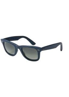 Ray-Ban Wayfarer Leather RB2140QM Sunglasses