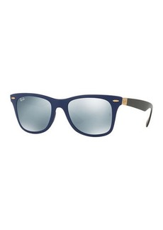 Ray-Ban Wayfarer Mirrored Sunglasses