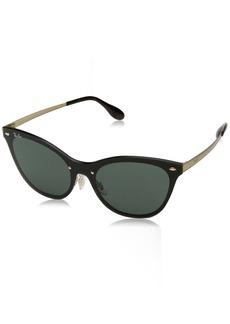 Ray-Ban Women's Blaze Cat Eye Cateye Sunglasses  0 mm