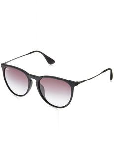 Ray-Ban Women's Erika (f) Aviator Sunglasses  53.7 mm