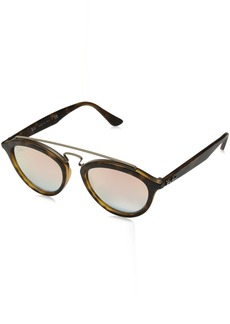 Ray-Ban Women's Gatsby II RB4257 6267B9 Non-Polarized Sunglasses /Copper Gradient Mirror