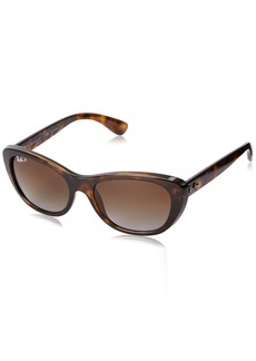 Ray-Ban Women's RB4227 Cat Eye Sunglasses