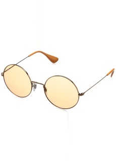 Ray-Ban Women's Ja-jo Non-Polarized Iridium Round Sunglasses