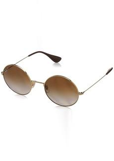 Ray-Ban Women's Ja-Jo Polarized Iridium Round Sunglasses