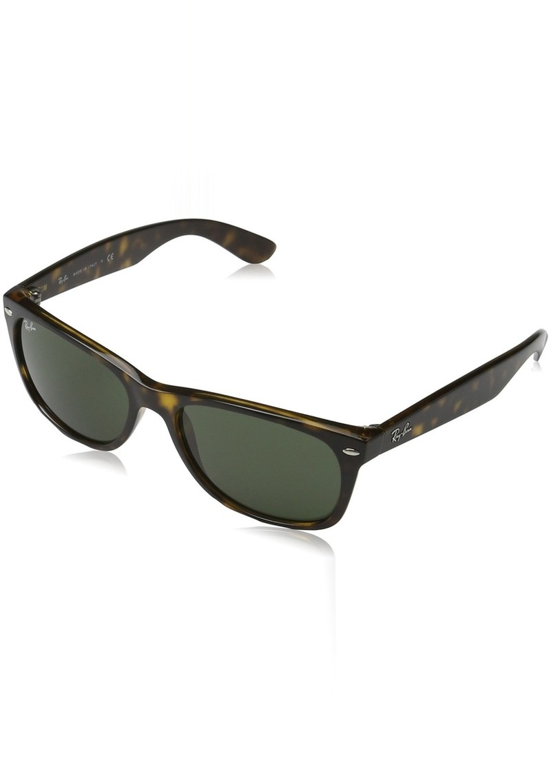 Ray-Ban Women's New Wayfarer Square Sunglasses TORTOISE