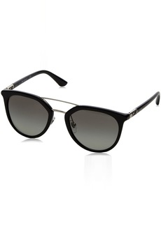 Ray-Ban Women's Plastic Woman Round Sunglasses  52 mm