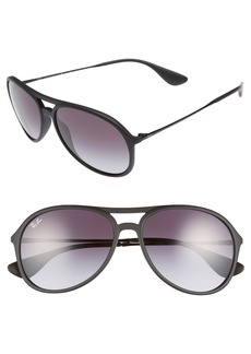 Ray-Ban Youngster 59mm Aviator Sunglasses