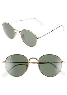 Ray-Ban Icons 50mm Folding Sunglasses