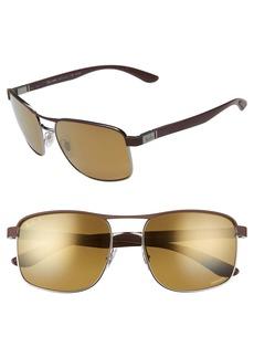 Ray-Ban 58mm Chromance Polarized Sunglasses