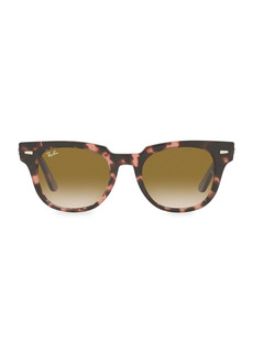 Ray-Ban RB2168 50MM Meteor Square Sunglasses