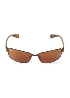 Ray-Ban RB3364 62MM Rectangle Sunglasses