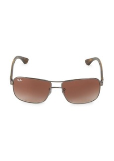 Ray-Ban RB3516 52MM Square Sunglasses