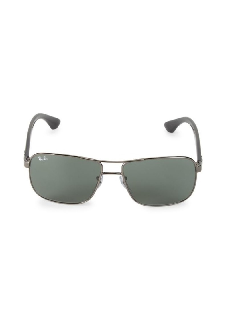 Ray-Ban RB3516 59MM Square Sunglasses