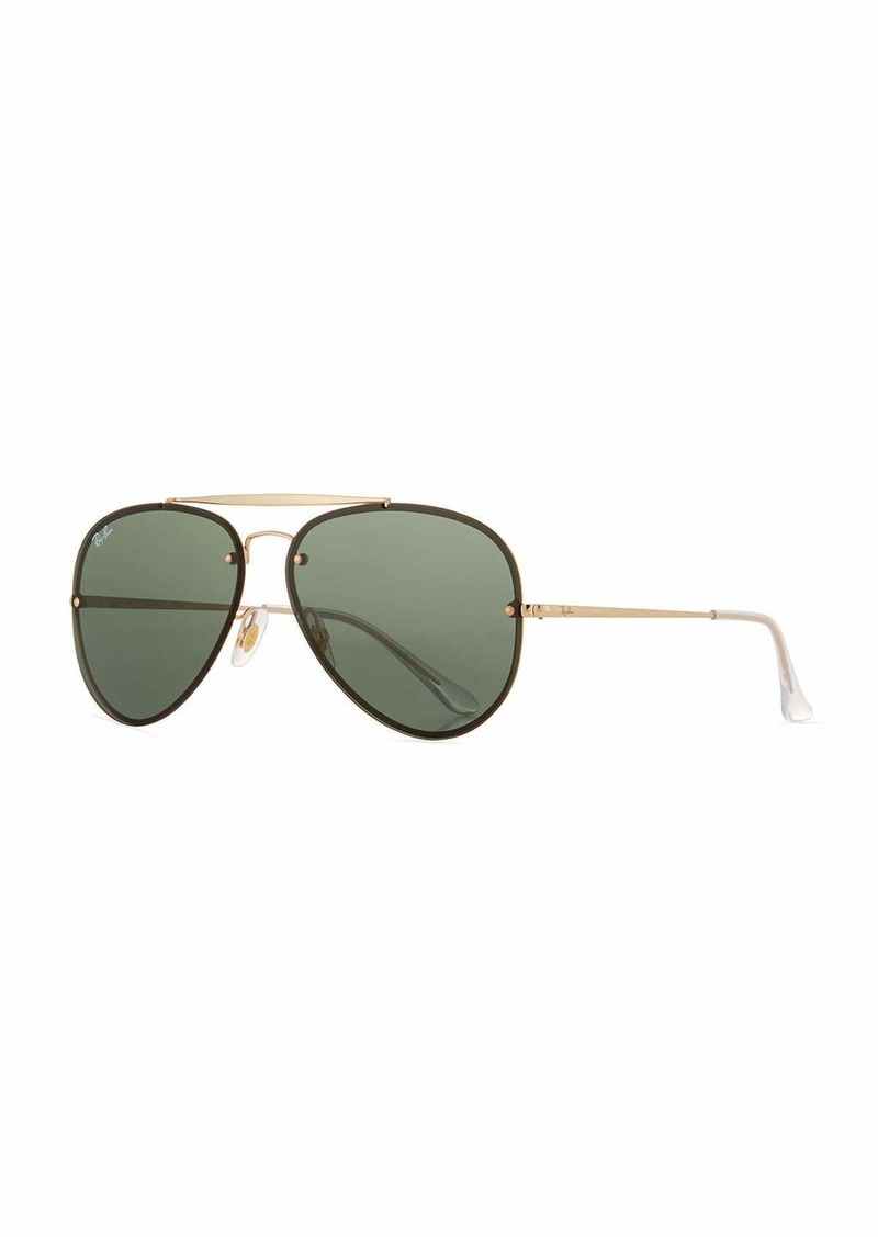 Ray-Ban RB3584 Aviator Sunglasses  Gold