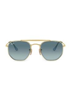 Ray-Ban RB3648 52MM Icons Geometric Aviator Sunglasses