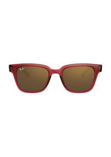 Ray-Ban RB4323 Mirrored Wayfarer Sunglasses