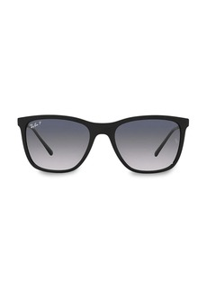 Ray-Ban RB4344 56MM Square Sunglasses