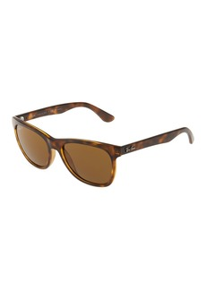 Ray-Ban Rectangle Plastic Tortoiseshell Sunglasses
