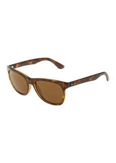 Ray-Ban Rectangle Plastic Tortoiseshell Sunglasses