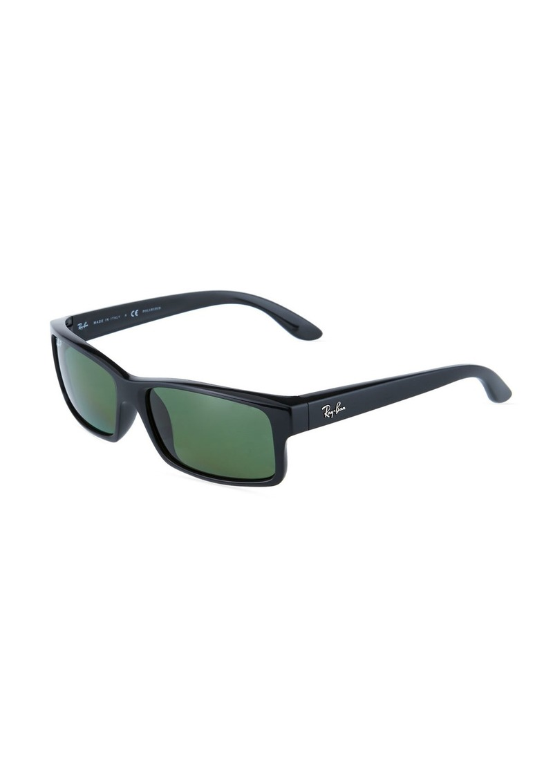 Ray-Ban Rectangular Acetate Sunglasses