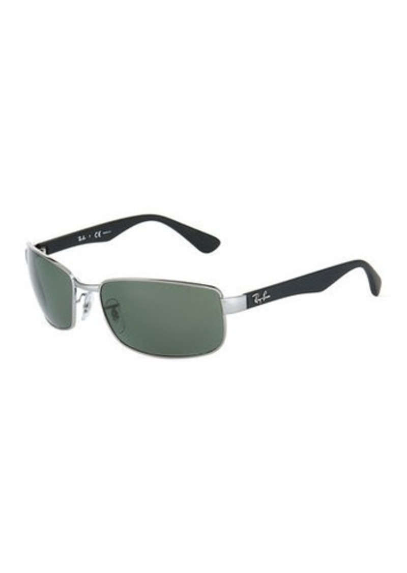 Ray-Ban Rectangular Metal Sunglasses