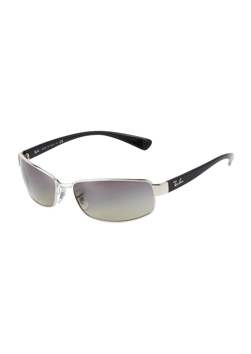 Ray-Ban Rectangular Metal/Acetate Sunglasses