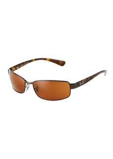 Ray-Ban Rectangular Metal/Acetate Sunglasses