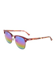 Ray-Ban Round Metal Multicolor Sunglasses
