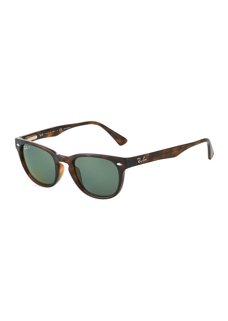 Ray-Ban Round Tortoiseshell Acetate Sunglasses
