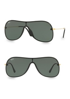 Ray-Ban Solid Shield Sunglasses