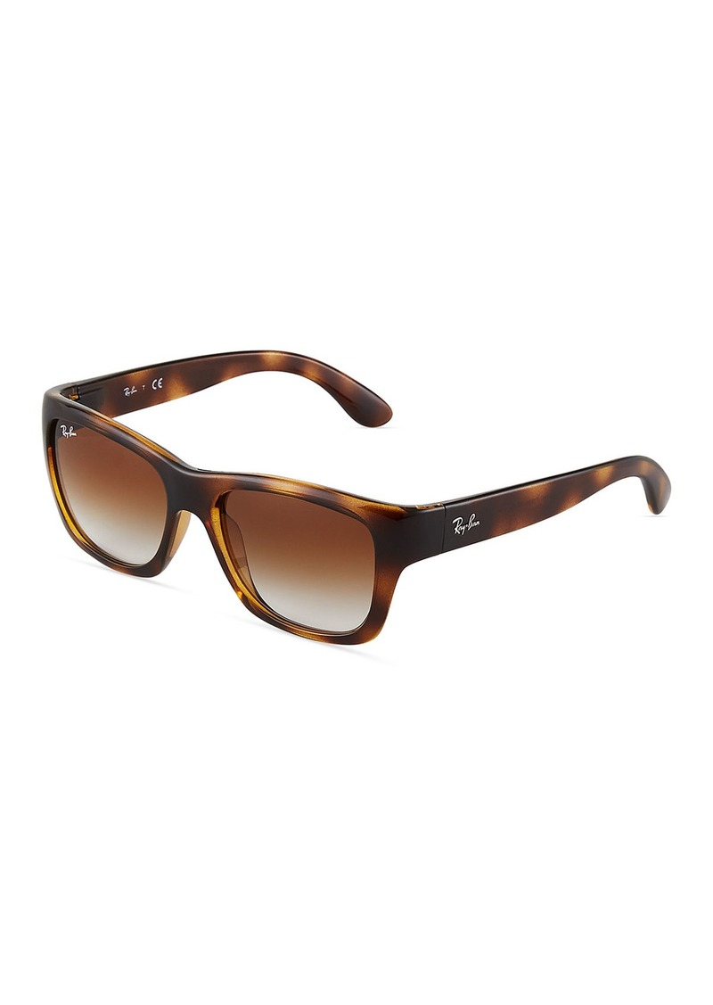 Ray-Ban Square Acetate Tortoiseshell Sunglasses