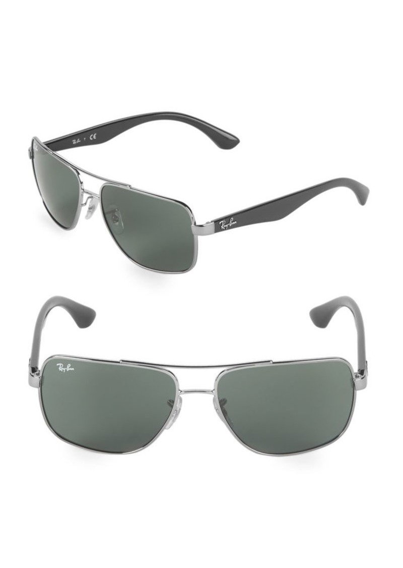 Ray-Ban 60MM Square Sunglasses