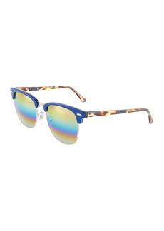 Ray-Ban Square Metal Multicolor Sunglasses