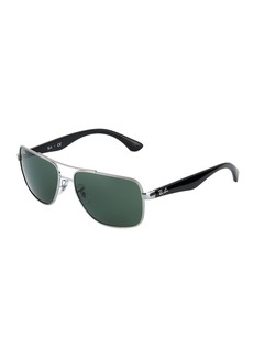 Ray-Ban Square Metal Sunglasses