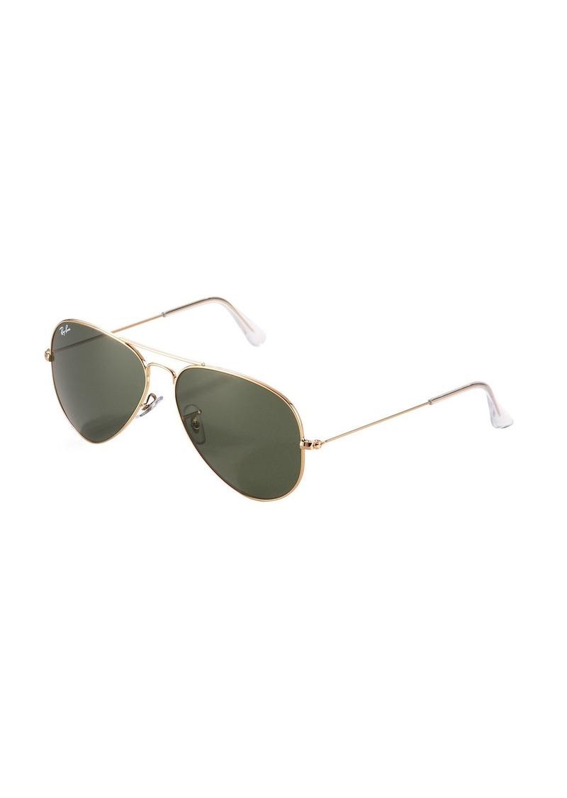 Ray-Ban Teardrop Aviator Sunglasses  Gold